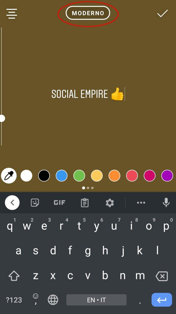 Instagram Font SocialEmpire