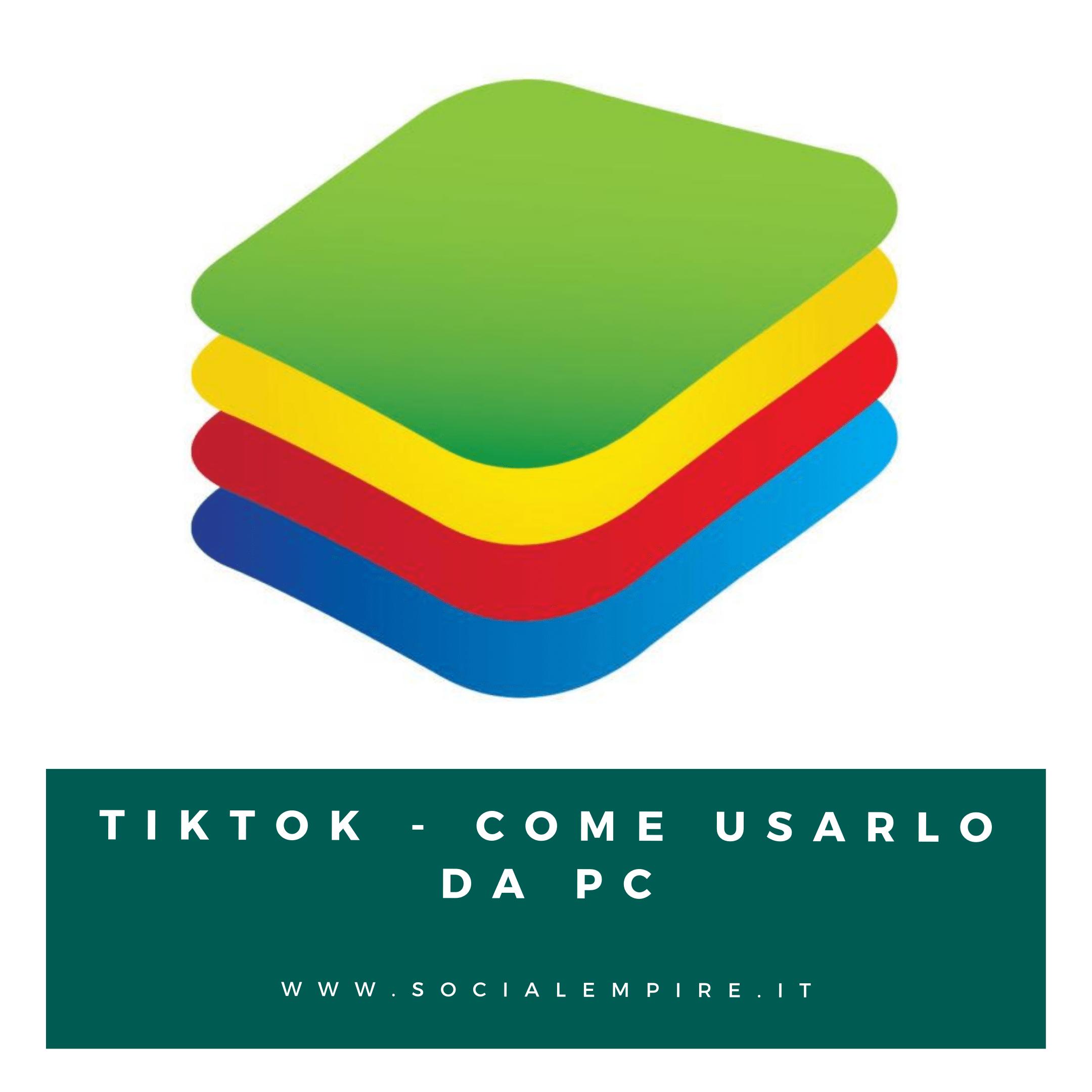 scaricare TikTok sul PC