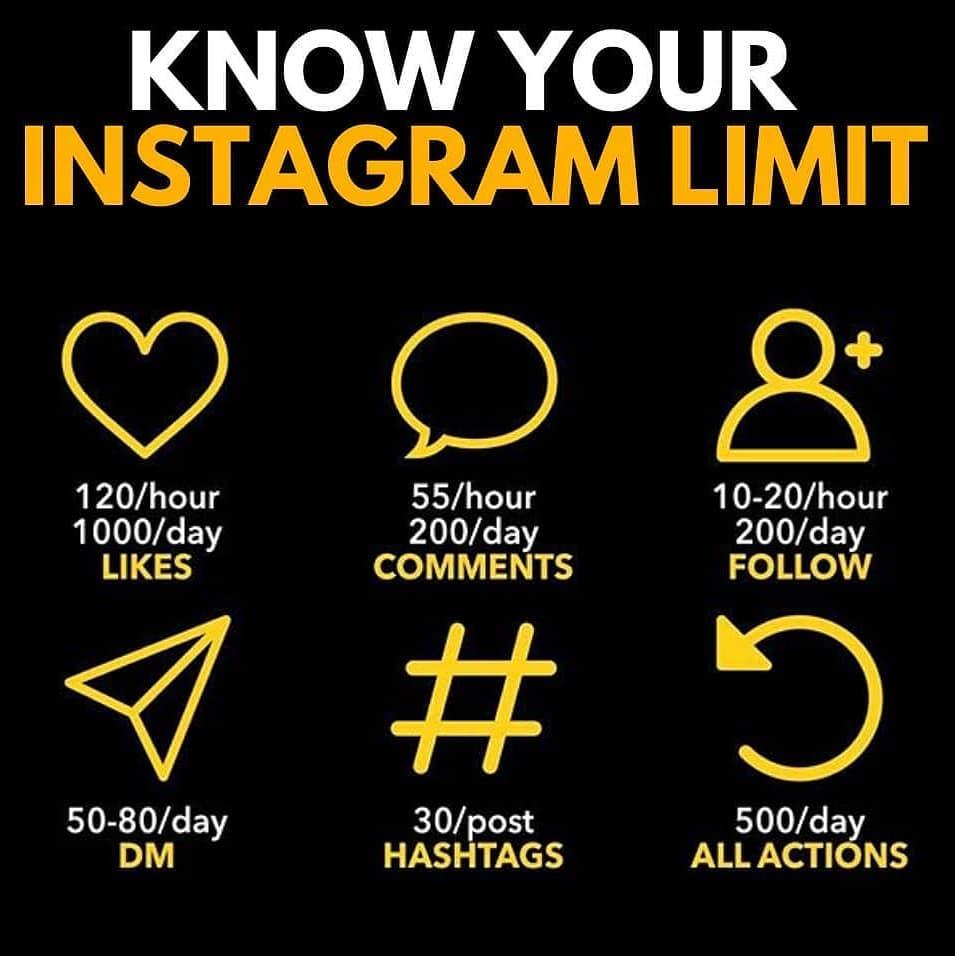 Instagram limiti