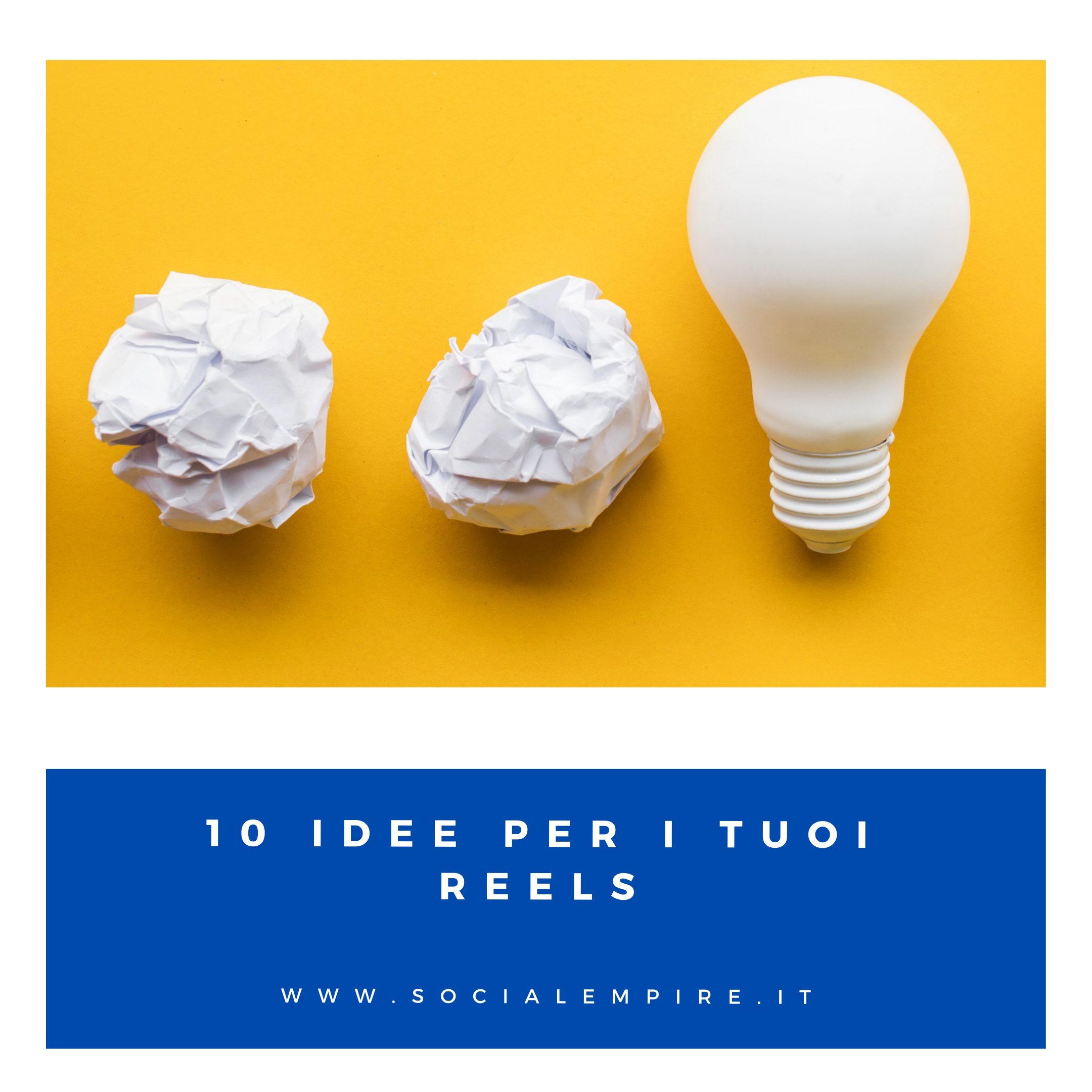10 idee reels